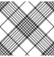 monochrome fabric diagonal seamless texture vector image vector image