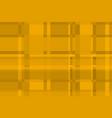 orange tartan checkered pattern in scottish style vector image vector image