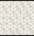 seamless geometric simple pattern - grid vector image