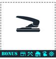 stapler icon flat vector image vector image