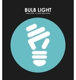 bulb light vector image vector image
