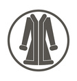 Coat icon vector image vector image