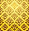 Gold Yellow Pattern vector image vector image