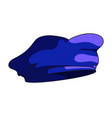 military beret icon vector image