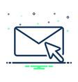 newsletter vector image vector image