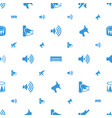 noise icons pattern seamless white background vector image vector image