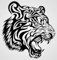 Tiger tattoo vector | Price: 1 Credit (USD $1)