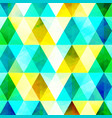 abstract mosaic bright template vector image vector image