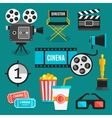 Cinema Icon Set vector image