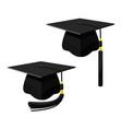 school cap in cartoon style vector image