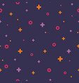violet memphis seamless pattern 80s - 90s style vector image vector image