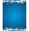 blue grunge christmas background vector image vector image