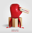 Boxing day shopping creative sale idea vector image