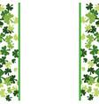 clovers frame background vector image