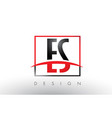 es e s logo letters with red and black colors and vector image vector image