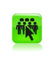 social icon vector image vector image