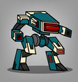 Square Box Style Robot vector image vector image