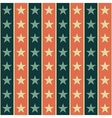 Retro star pattern vector image