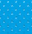 balalaika pattern seamless blue vector image vector image