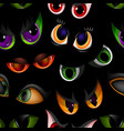 cartoon eyes beast devil monster animals vector image vector image