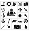 icon set nautical vector image vector image