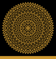 Mandala006 vector image