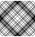 modern pixel black white seamless pattern plaid vector image vector image