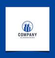 modern real estate logo design inspiration vector image