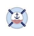 nautical-logo vector image