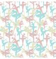 seamless pattern of dancing ballerinas silhoette vector image vector image