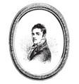 sir david wilkie vintage vector image vector image