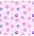 sweet donuts seamless pattern Pastry background vector image vector image