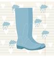 wellington Rain Boots vector image
