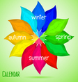 Abstract calendar vector image