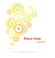 Abstract Background with Text Space vector image vector image