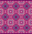 abstract ethnic vintage seamless pattern geometric vector image vector image