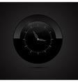 Black Clock vector image vector image