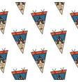 camping life pennant pattern camping adventure vector image vector image