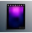 colorful gradient texture background design vector image