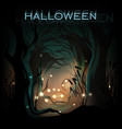 halloween design template background vector image vector image