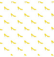 yellow woman shoe pattern seamless vector image vector image