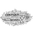 an embarrassment of riches part i text word cloud vector image vector image