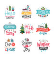 doodles posters vector image vector image