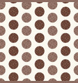 dotted circles stripes seamless pattern vector image vector image