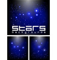 night stars vector image