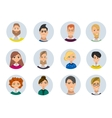 People avatars collection vector image vector image