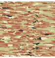 Pixelated camouflage wallpaper vector image vector image