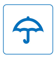 Umbrella icon cartoon vector image vector image