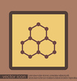 Chemical compound Symbol chemistry Icon science vector image vector image