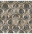 damask arabesque baroque abstract wallpaper vector image